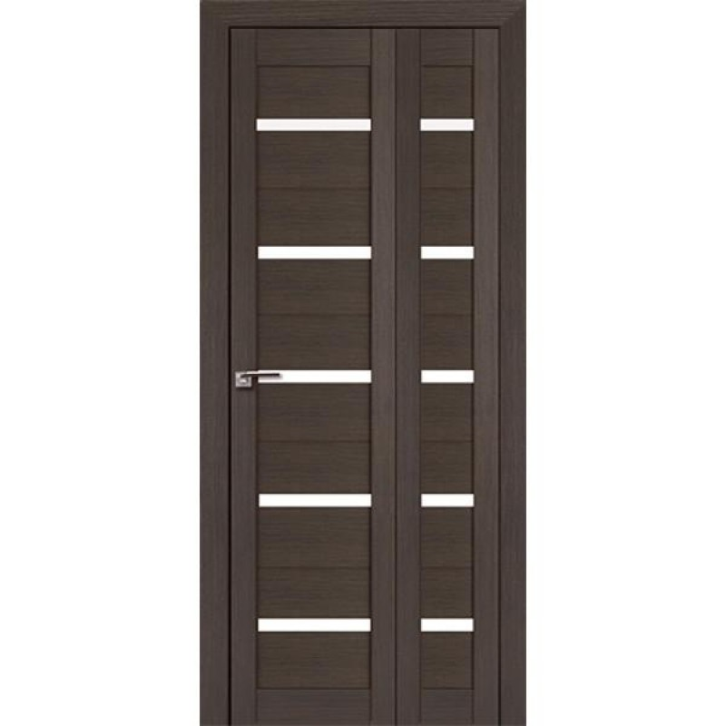 Складная межкомнатная Дверь-Книжка 7Х Грей мелинга