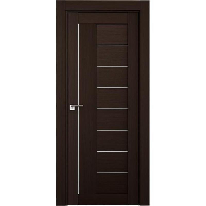 Дверь 17Х Венге мелинга Профиль Дорс